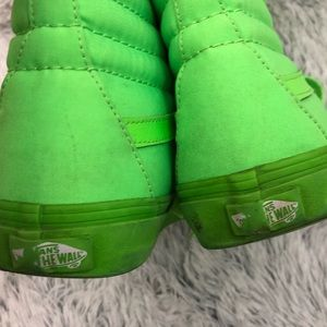 Vans Shoes - Vans-Neon Green Size 6